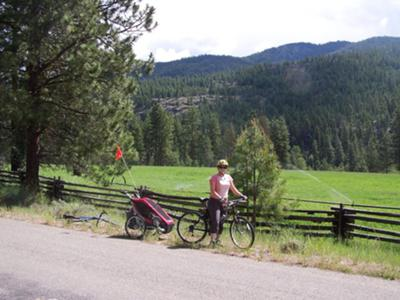 30+ Mile Ride by Winthrop, WA