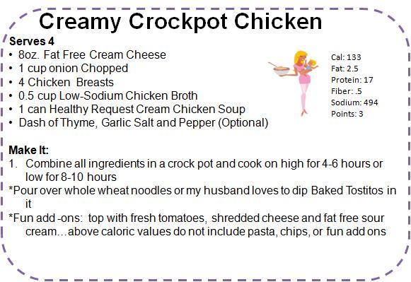 Easy healthy crock pot recipes with chicken